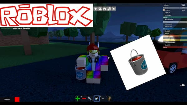 Roblox Paint Bucket