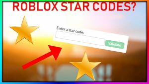 Roblox Star Code