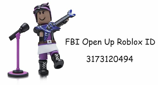 FBI Open Up Roblox ID